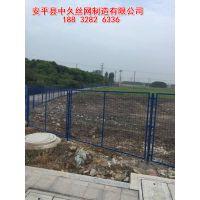高速公路护栏网 桥梁护栏 浸塑喷塑绿色铁丝网 养殖用网 果园网