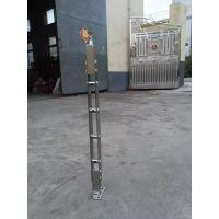 江苏天津天波幕墙厂家直销304不锈钢穿管子立柱 可定制