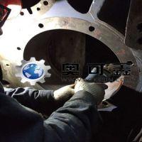 奥可鑫修复技术成功修复风电齿轮箱轴承座磨损