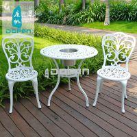 度帆度帆铸铝桌椅三五件套户外休闲椅子室外桌子阳台茶几铁艺座椅