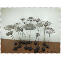 不锈钢园林雕塑创意性花束雕塑