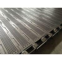 304不锈钢耐磨耐高温性强耐腐蚀食品运输专用冲孔链板厂家定制