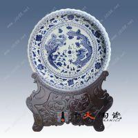 陶瓷大瓷盘 彩绘大挂盘 礼品创意大瓷盘订制厂家 千火陶瓷