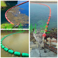 水电站浮筒怎么安装固定拦垃圾浮筒介绍