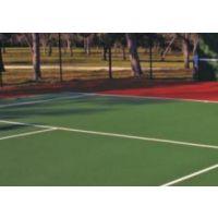 运之家|操场硅PU塑胶网球场的铺设