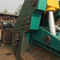 襄阳汽车大梁废钢板剪切机 1.6米剪口的虎头剪切机视频山东思路机械厂家