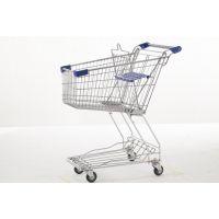 厂家直销双层购物车 供应 优质澳式超市购物车 轻型理货车批发