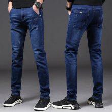 辽宁哪里有男装尾货牛仔长裤批发哪里的牛仔长裤批发呢韩版潮流男装牛仔裤