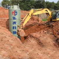 甘肃专业定制一体化预制泵站地埋式泵站玻璃钢材质防腐耐用