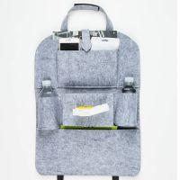 汽车座椅收纳袋 挂袋车用椅背置物袋 多功能车载储物收纳 多色