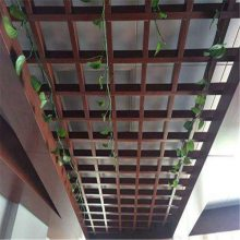 广州德普龙 聚酯漆喷涂铝格栅安装简单 厂家价格