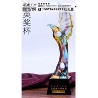 广州水晶奖杯,员工奖杯-环典