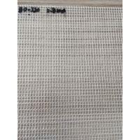 直供0.3mm厚度防尘防雨环保PVC透明夹网布