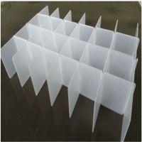 供应广州海珠PP塑料蓝色塑胶中空板刀卡白色空心板 黑色防静电隔板