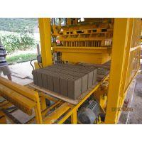 柏乡彩砖液压制砖机透水砖机华源砖机售后服务好