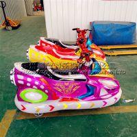 极速飞艇极速飞车儿童电瓶车游乐场玩具车亲子互动车