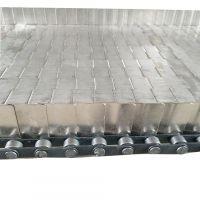 卓远厂家定制链条式链板 耐腐蚀304不锈钢链板输送带 运行平稳