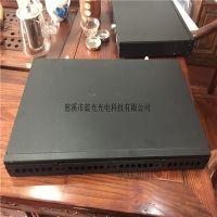 蓝光科技96芯MPO光纤配线架 机架式LC型光纤配线架