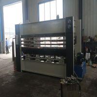 木工机械多层板材木工热压贴面机 BY214X8/10(3)实木家具压合全自动热压机生产厂家