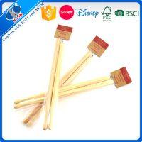 厂家直销鼓槌长铅笔可定制原木色可加logo印刷 可削尖木质环保