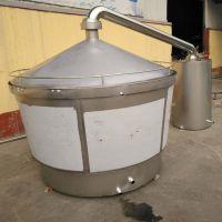 家用500斤酿酒设备价格白钢烧酒锅酒容器传统白酒蒸馏设备