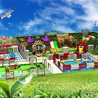 深圳儿童游乐设备大型缤纷淘气堡室内亲子乐园幼儿园加盟项目