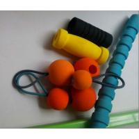 弹力皮筋EVA球 钻孔泡绵球玩具 异型EVA泡绵玩具