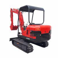 克勒斯年终促销 迷你挖掘机2.2T 多功能通用小型挖掘机