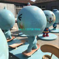 青岛玻璃钢雕塑专业修复
