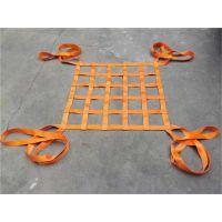 吊带吊网 帆布吊装网兜 无孔吊货网