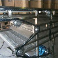 强盛机械厂家制作风冷网带输送机 模块式网带输送机 欢迎来电制作