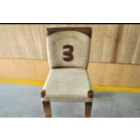 海德利loft桌椅 实木休闲餐椅组合 现代简约 北欧靠背椅子