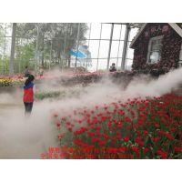 成都花坛人造雾喷雾喷淋景观人造雾喷雾喷淋降温降尘设备