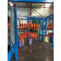 铸件喷涂生产线喷涂设备自动喷涂bh-744潍坊北海电子涂装