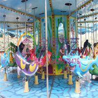 大型游乐场娱乐设备 金博海洋旋转木马中山厂家直销
