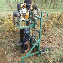 冬季植树挖坑机 启航果园施肥挖坑机 梯田栽果苗用的挖洞机