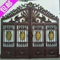 金豪尚铝艺庭院门,铝合金大门,别墅围墙大门