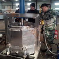 双桶轮换式酱菜压榨脱水机 _压榨萝卜条 酒厂使用压榨设备多少钱