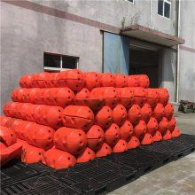 天津河道警示标志 水面围栏网浮筒厂家
