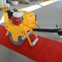 山东森泰小型压路机 手扶单钢轮压路机 700型振动压实机厂家直销