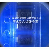 供应TOSHIBA/东芝肖特基二极管SS210 SB2100 100V/2A SMA 原装现货