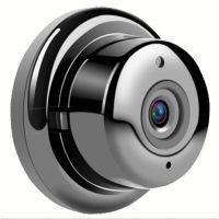 360度VR全景鱼眼网络摄像头无死角IP camera家用WiFi无线监控摄机