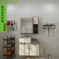 尚百年全新推出防水防潮人造石台面铝合金橱柜系列现代简约风格
