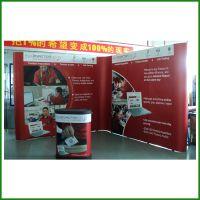 深圳背景展示架 桁架背景 KT板 快幕秀组装装 快展架安装