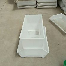 鸭用料箱厂家批发 优质白色塑料箱