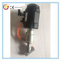 厂家直销丝扣式流量控制气动角座阀 配智能电气定位器比例调节阀