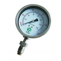 PG110S均质机专用高压卫生型隔膜压力表 皓力德齐亚斯70MPa、100MPa、160MPa