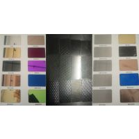 无锡钛金板,304不锈钢镀钛金,装饰板,压花板,蚀刻花纹板加工