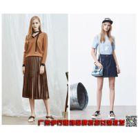 上海高端品牌如缤18春装专柜正品品牌折扣尾货女装批发走份价格