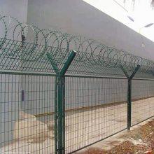 宁夏监狱护栏网厂家刀刺围栏网 钢丝网围墙